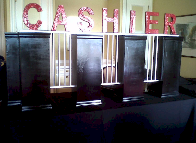 The Original Rentals From  Cashier Cage Local Wichita Company Parties